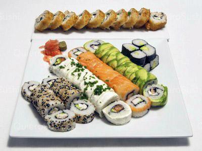 60 piezas de sushi en Fusion Sushi, La Florida