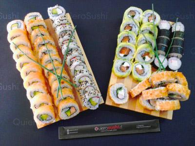 60 piezas de sushi en Nori Sushi, Ñuñoa