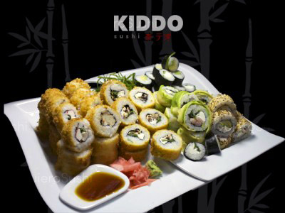 70 piezas de sushi en Kiddo Sushi, Santiago Centro