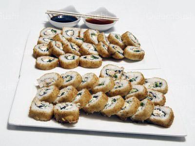 40 piezas de sushi en Fusion Sushi, La Florida