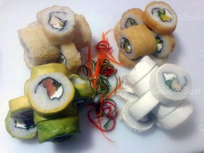 44 piezas de sushi en Sushi Rolls Liam, Ñuñoa