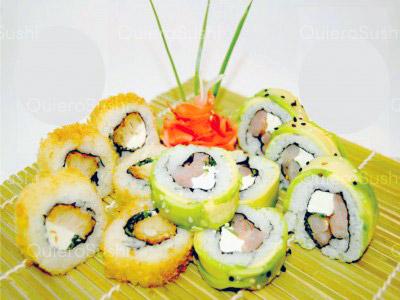 50 piezas de sushi en King Roll, Peñalolen