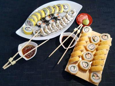 50 piezas de sushi en Giro Sushi, Quinta Normal