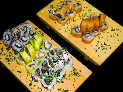 50 piezas de sushi en Hi! Sushi, Santiago Centro